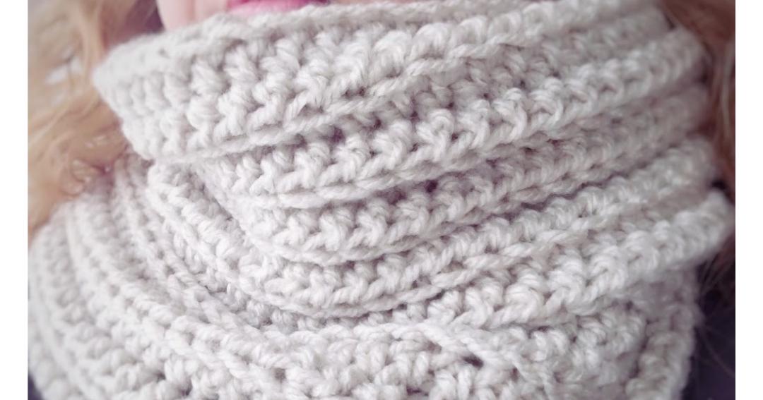 cosicasraquel: Bufanda Infinita a Crochet