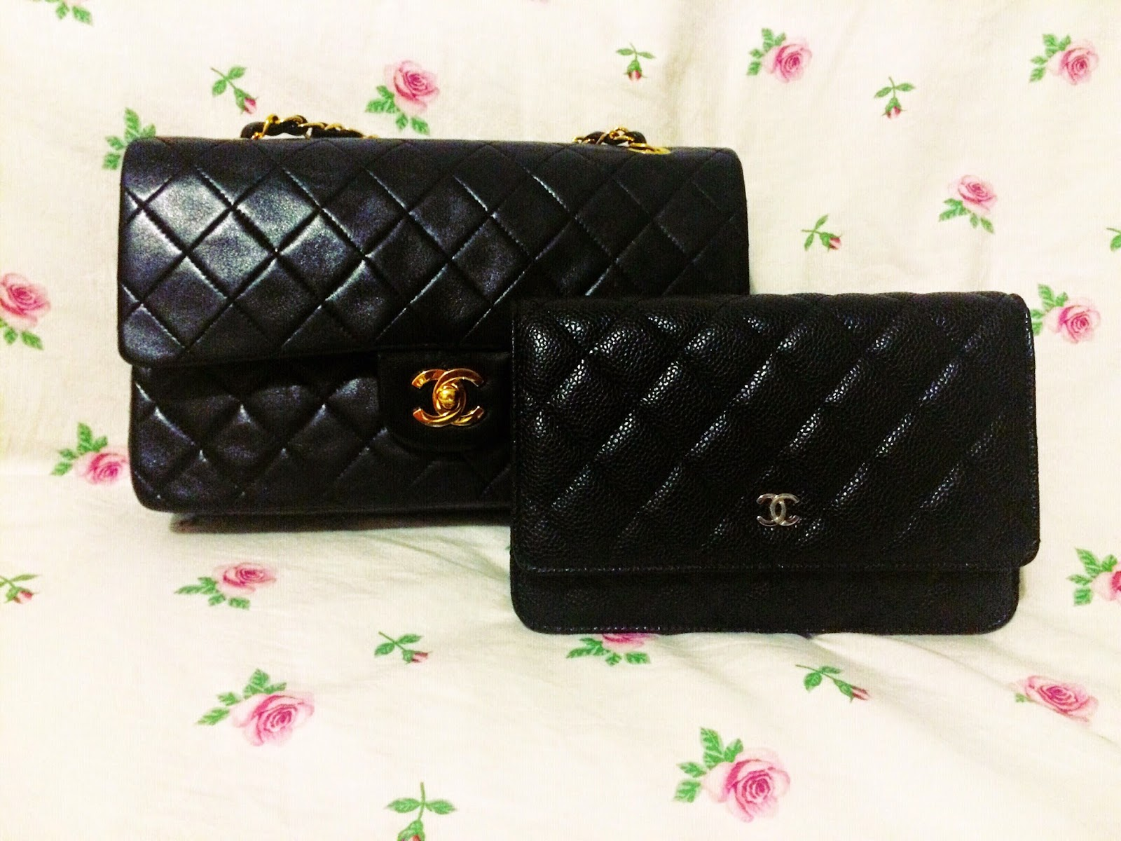 16932485afca The measurements on it is 7.6 inches in width, 4.8 inches in height, 1.4  inches in depth, here is a comparison with my vintage Chanel medium large  classic ...