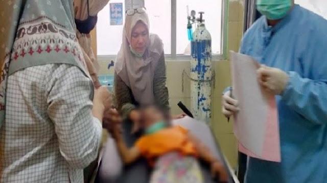 Miris! Bocah 5 Tahun di Sampit Diduga Korban KDRT, Tangan Patah