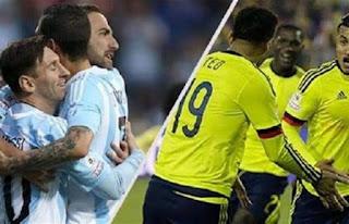 موعد مباراة الارجنتين وكولومبيا في نصف نهائي كوبا أمريكا 2021.