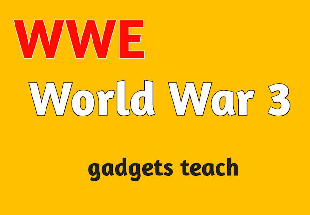 Iran's top military leader, WORLD WAR 3