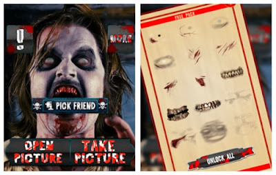zombie camera booth free by bright light