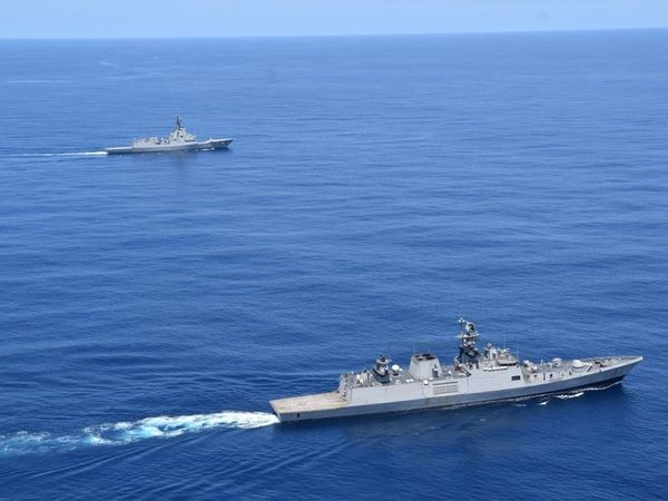 Indian and austrailian navy passex exercise