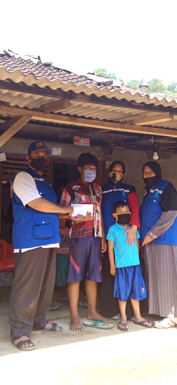 Tim Lazdai Lampung Kunjungi pekon waykerap yg terkena banjir 4 Agustus lalu