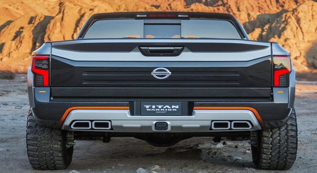 Titan pickup truck and Ariur- April test Squaw