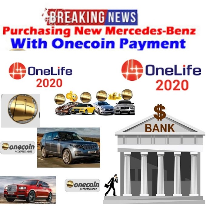 Purchasing 10 New Mercedes-Benz AMG GT 4Matic With Onecoin Payment