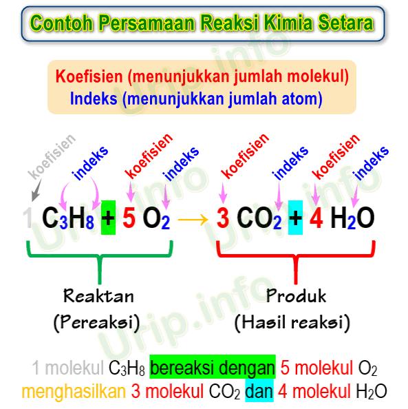 Penyetaraan Persamaan Reaksi Untuk Pembelajar Kimia Pemula Urip Dot Info