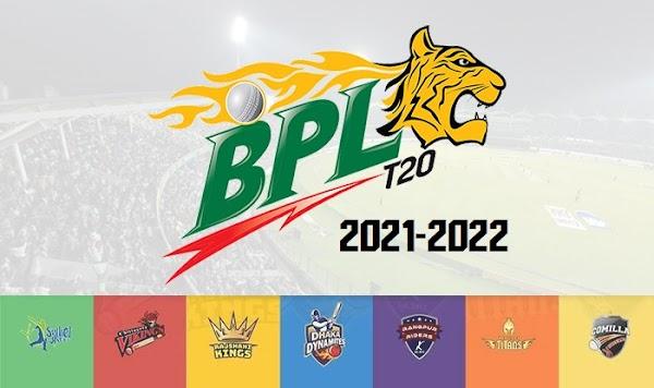 Bangladesh Premier League 2021–22 Schedule   Time Table   Postponed   Date