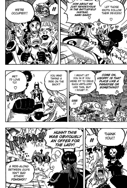 One Piece Manga Chapter 979 - Image 008