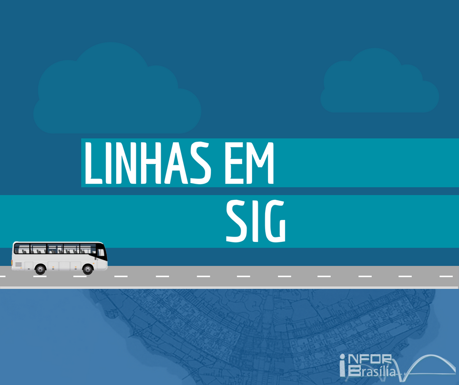 Horário de ônibus das linhas do SIG