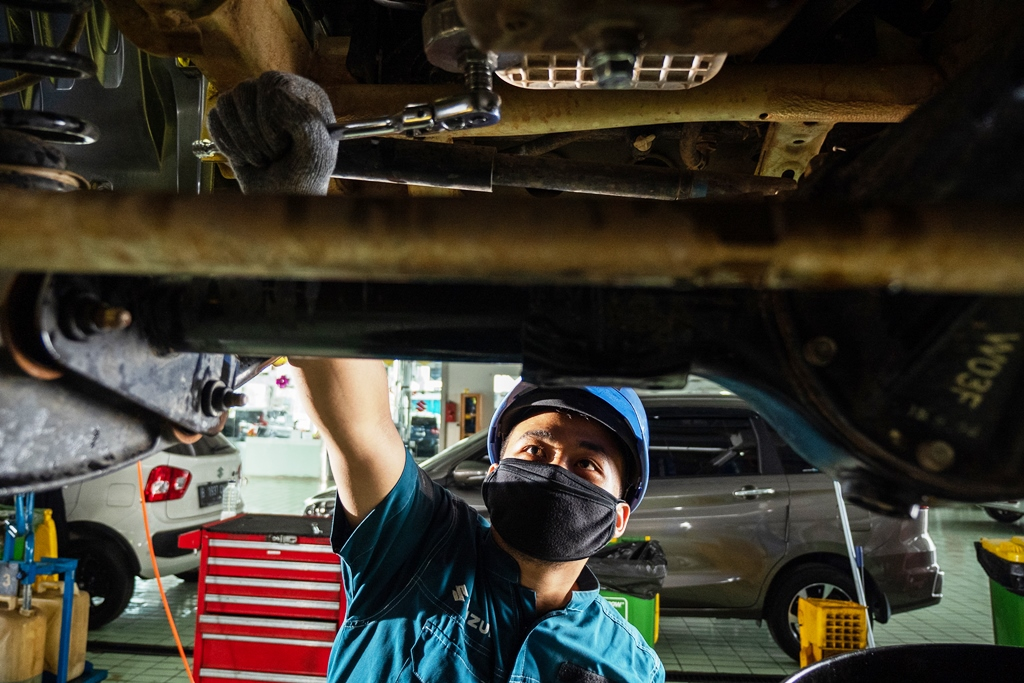 Suzuki Gratiskan Biaya Pemeriksaan Mobil dan Motor