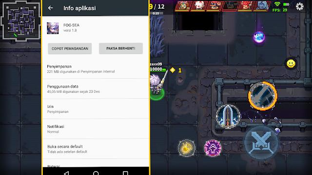 Game Moba Android Grafik Pikel GODLIKE FOG - SEA Android Dan Total Size-Nya!!