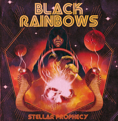 Black Rainbows - Stellar Prophecy - cover album - 2016