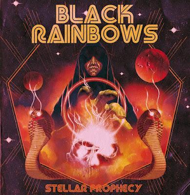 Black Rainbows - Stellar Prophecy - cover album - 2016