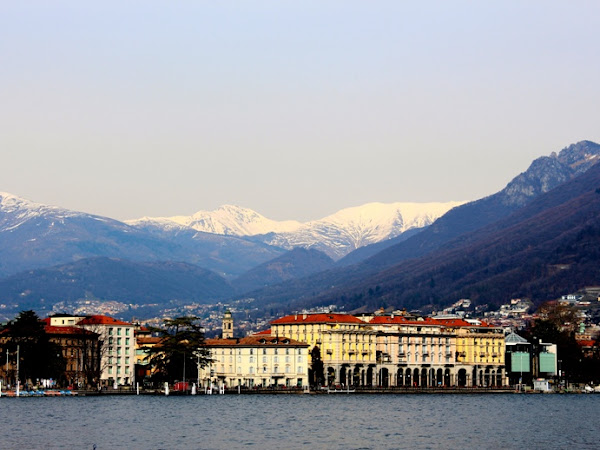 Lake Lugano and Lake Como