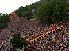 Travel to the Thrissur Pooram Festival in Kerala