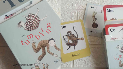 T is for tumbling flash cards