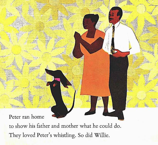 Ezra Jack Keats illustration 1960s large