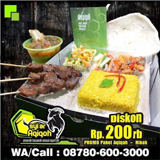 Harga Catering Aqiqah 2019 Surabaya, Sidoarjo, Gresik