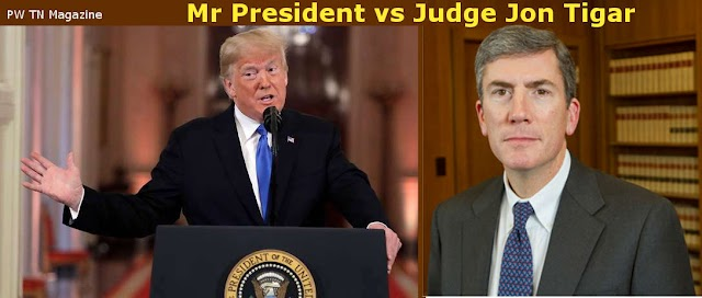 Top Story : Judge Jon Tigar blocked order by President D.T. about illegal immigrants