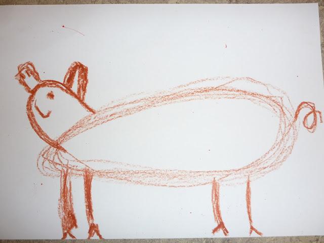 Schweine zeichnen