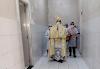 Padre Ronaldo Gomes visita o hospital municipal Maria Rodrigues de Melo em Alto do Rodrigues