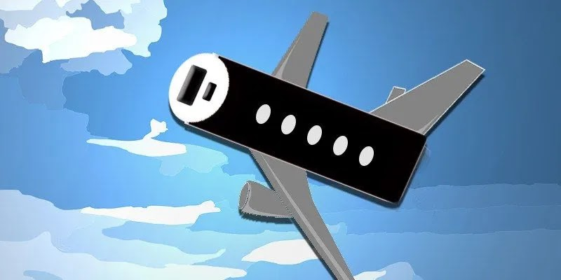هل بنك الطاقة مسموحًا به على متن طائرة