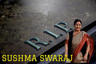 sushma swaraj bio, death of sushma swaraj, sushma swaraj images, sushma swaraj ki death, trend news, sushma swaraj family