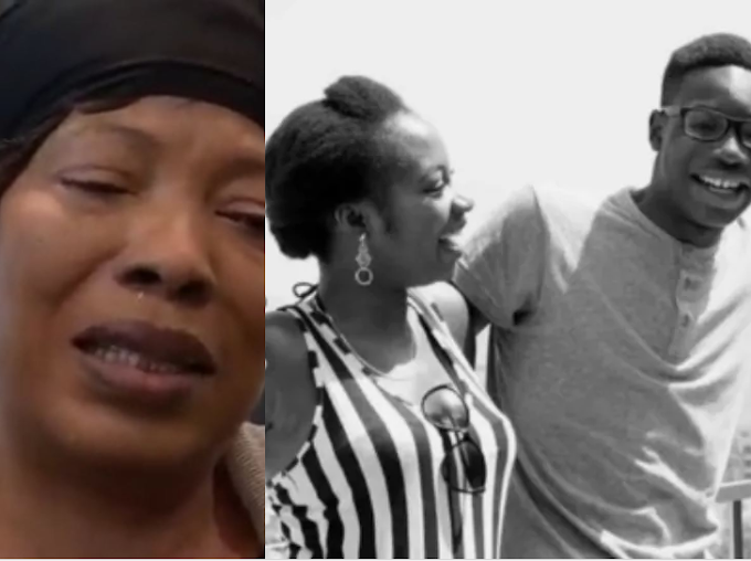 If you know who killed my brother come out, i beg you - BBNaija's Khafi Khareem and her mother plead as it's revealed Alexander was shot during a case of mistaken identity (video)