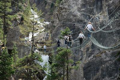 Ponti tibetani piu' lunghi e alti in Italia - Claviere - Gite e vacanze