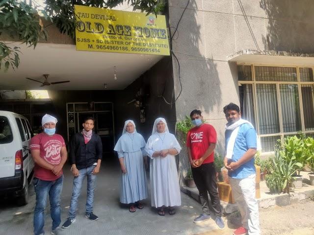 जन हितकारी संगठन के कार्यकर्ता सुनील ने अपना 22वा जन्मदिन वृद्ध आश्रम में रहने वाले वृद्धों के साथ मनाया।