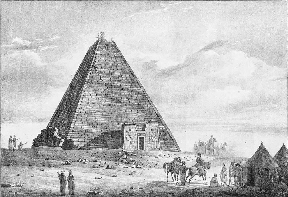The Great pyramid of Queen Amanishakheto