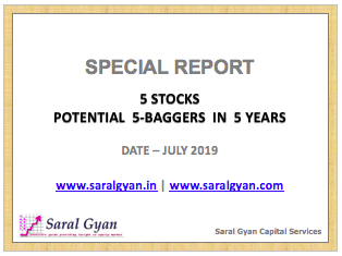 Special Report - 5 Stocks - Potential 5-Baggers in 5 Years