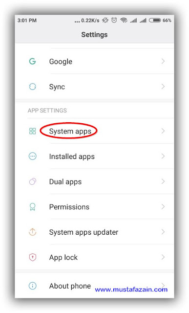 Cara Mematikan Lampu Flash Saat Panggilan Masuk Pada HP Xiaomi
