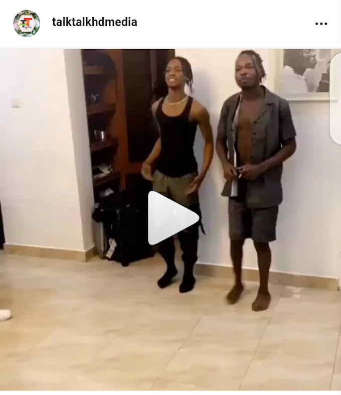 """Naira Marley Kills It Again With New Dancing Style""""Wuge Dance""""(Video)"""