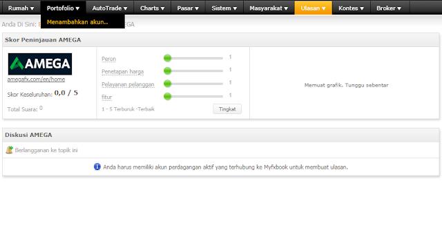 Tutorial cara membuat akun portfolio myfxbook