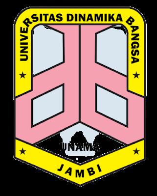 Download Logo Universitas Dinamika Bangsa PNG Lambang Unama Jambi Tanpa Background HD