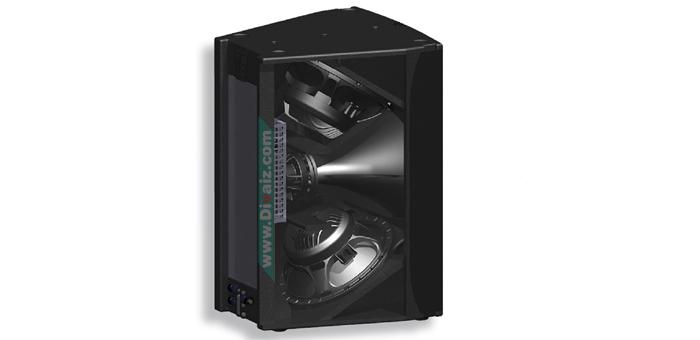 Skema Box Speaker 15-inch Untuk Mid-Low-High Yang Mantap
