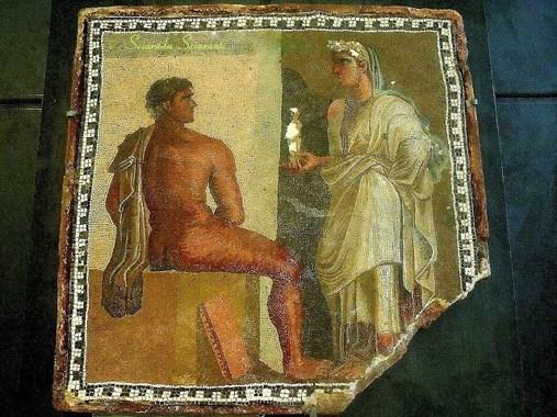 Mosaico a tessere minute