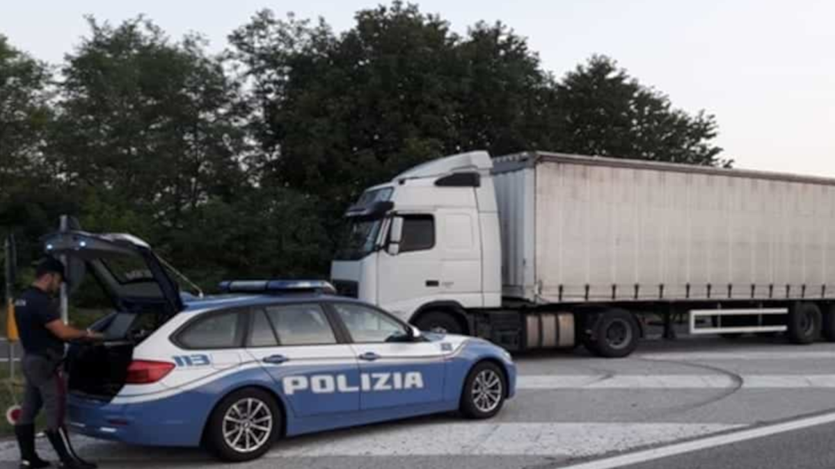 Tir tangenziale Polizia