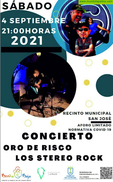 BREÑA BAJA: en concierto Oro de Risco y Los Stereos Rock