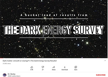 Dark Energy Survey releases 3-year data (Source: @ Dr. Becky)
