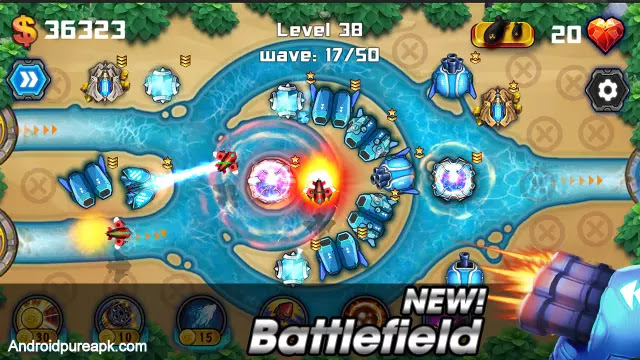 Tower Defense: Battlefield Mod Apk