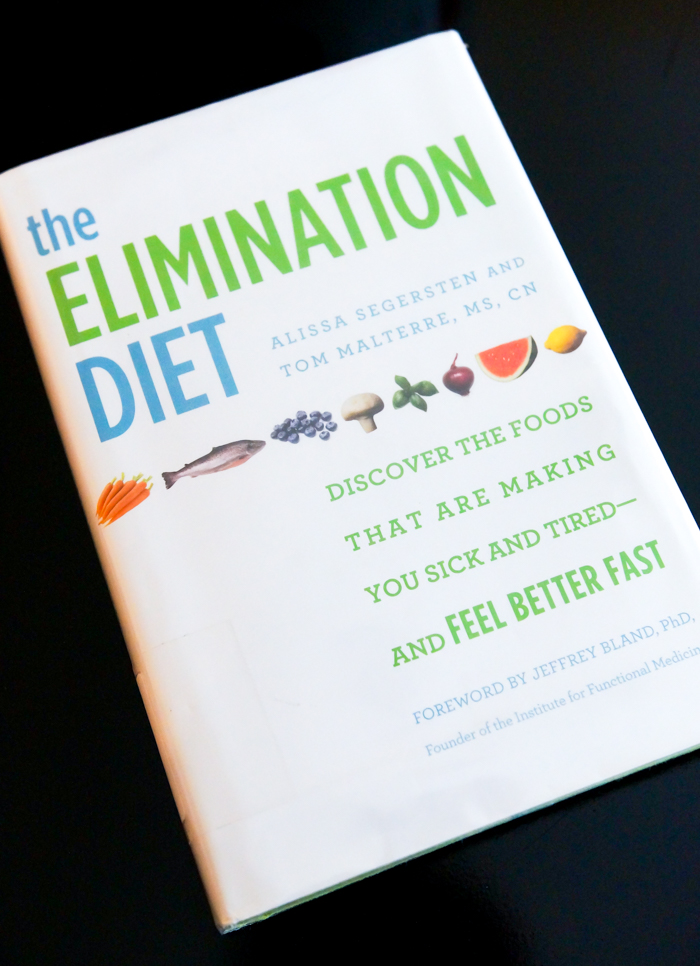 The Elimination Diet book