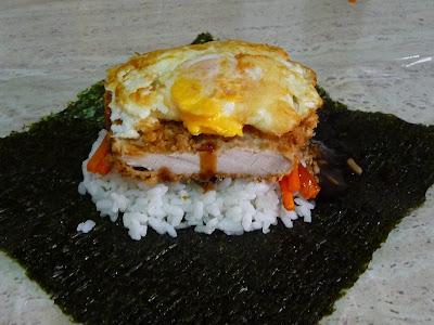 onigirazu de pollo katsu cocina japonesa gastronomia japonesa sandwich arroz sobras Tochi Ueyama Cooking papa RECETA sandwich