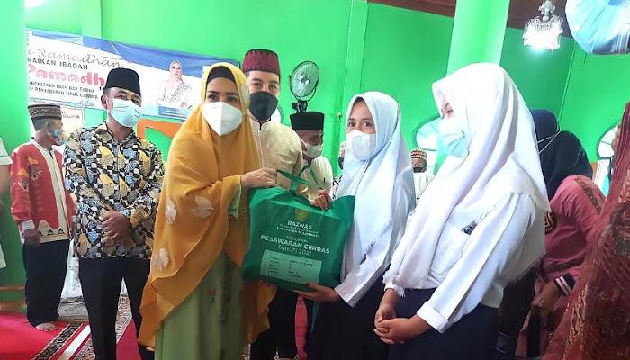 Jalin Silaturahmi, Bupati Bersama Baznas Kabupaten Pesawaran Kunjungi Masjid Raudhatul Muttaqin