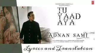 Tu Yaad Aya Lyrics and Translation - Adnan Sami | Adah Sharma