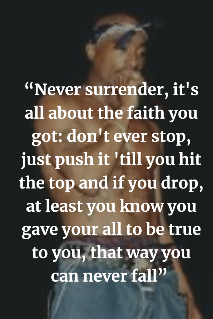 Top Tupac Shakur Inspirational Quotes and Sayings of The ...