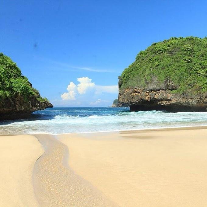 Pantai Greweng, Pantai Cantik Alternatif Camping di Gunungkidul