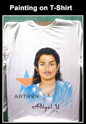 Top Best Professional Cloth Fabric Portrait Photo Painting Artist in Hyderabad Telangana INDIA